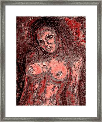 Nude Lady 1 Framed Print