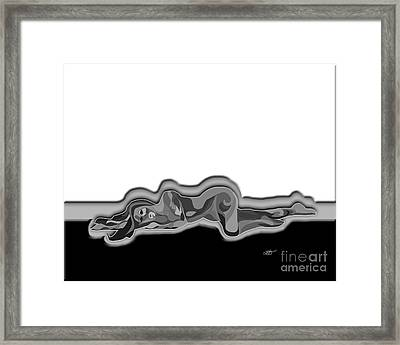 Numb Framed Print by Linda Seacord