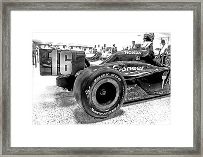 Number 16 Indy Framed Print by Lauri Novak