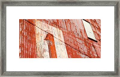 Number One Framed Print