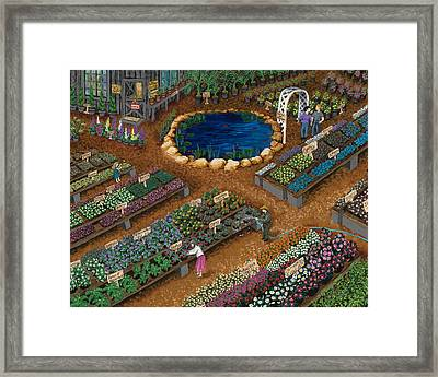 Nursery Time Framed Print