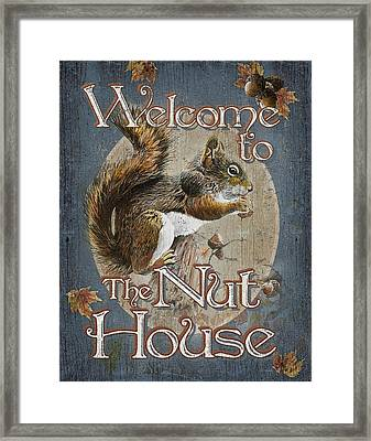 Nut House Framed Print by JQ Licensing