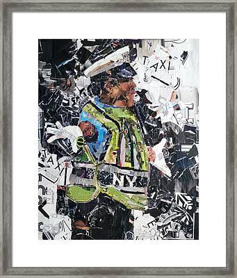 Ny Policewoman Framed Print