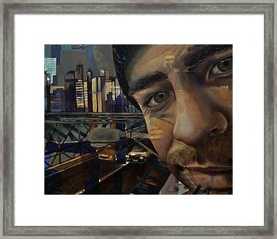 Ny Tony Framed Print by Jami Childers