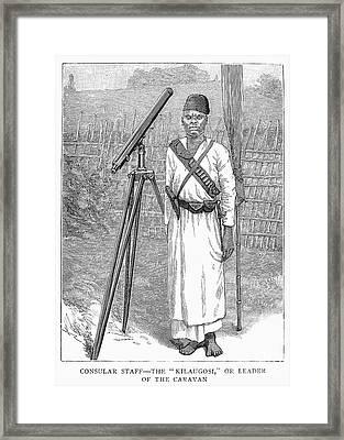 Nyasaland: Consul Staff Framed Print by Granger
