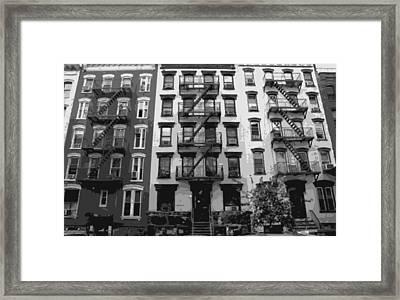 Nyc Apartment Bw8 Framed Print by Scott Kelley