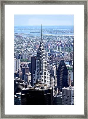 Framed Print featuring the photograph NYC by Josef Pittner