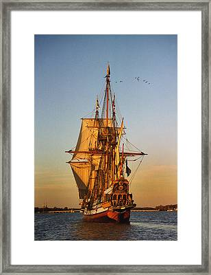 Nyckel On The Chester Framed Print by Skip Willits
