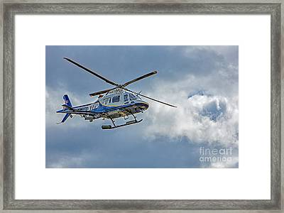 Nypd Framed Print by Susan Candelario