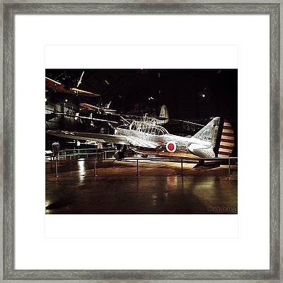 O-47b Observation Aircraft Framed Print