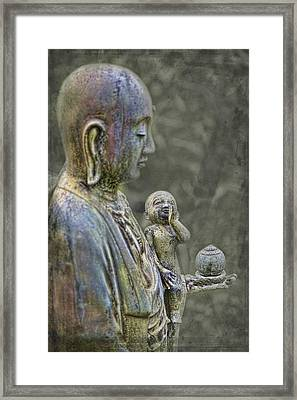 O-jizo-sama  Framed Print by Karen Walzer