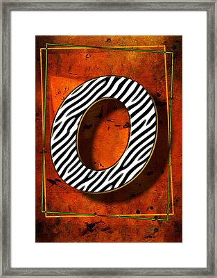 O Framed Print by Mauro Celotti