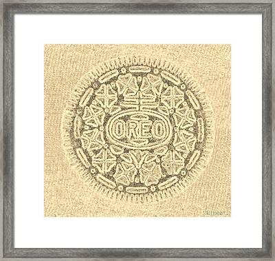 O R E O In Sepia Framed Print by Rob Hans