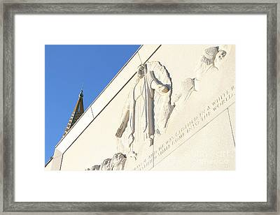 Oakland California Temple . The Church Of Jesus Christ Of Latter-day Saints . 7d11351 Framed Print