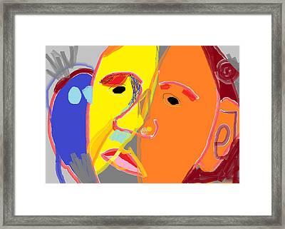 Obama 2 Framed Print by Anita Dale Livaditis