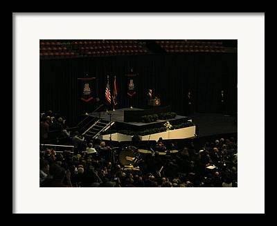 Mchale Center Framed Prints