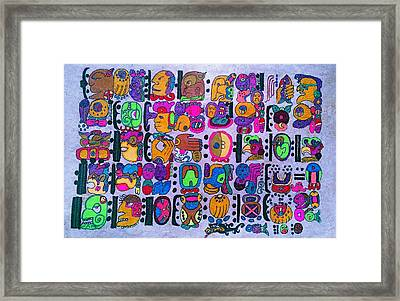 Obama Codex A Story A Conjurement And A Prediction  Framed Print