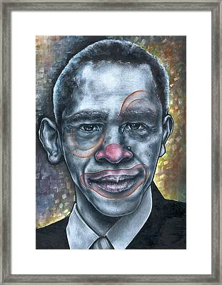 Obama's Circus Framed Print by Robert  Nelson