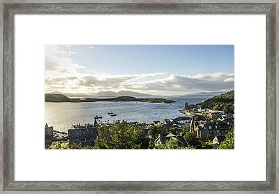 Oban Bay View Framed Print