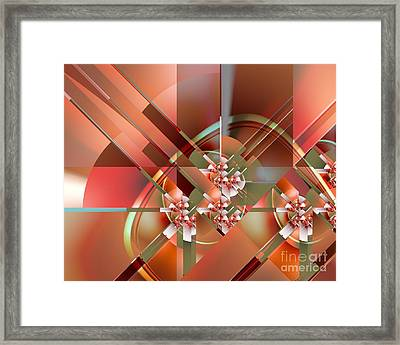 Objet Dart Three Framed Print