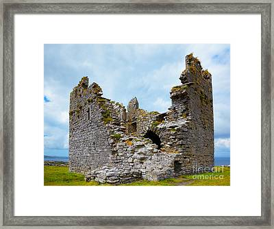 O'brien Castle Framed Print by Gabriela Insuratelu