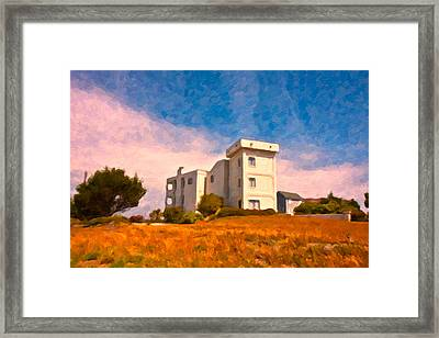 Observation Tower 1 Framed Print