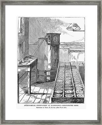 Observatory: Chronometer Framed Print by Granger