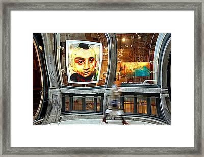 Observed Framed Print by Valentino Visentini
