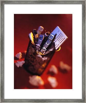 Obsolete Technology Framed Print by Mark Sykes
