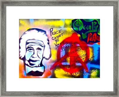Occupy Einstein Framed Print by Tony B Conscious