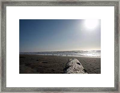 Ocean At Peace Framed Print