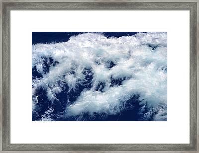 Ocean Blue Framed Print by Terence Davis