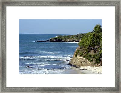Ocean Break Framed Print