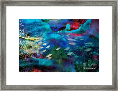 Ocean Dreams Framed Print by Rhonda Strickland
