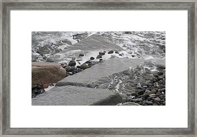 Ocean Edge Framed Print
