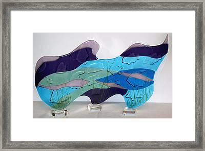 Ocean Framed Print by Eleanor Brownridge