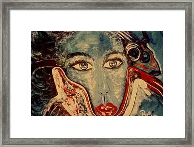 Ocean Goddess Framed Print