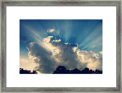 Ocean Of Light Framed Print by Jessica Wilson