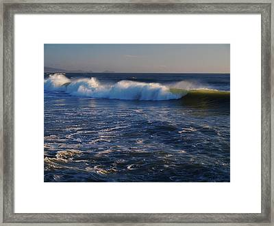 Ocean Of The God Series Framed Print