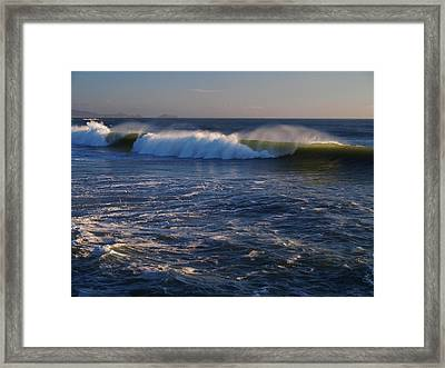 Ocean Of The Gods Series Framed Print