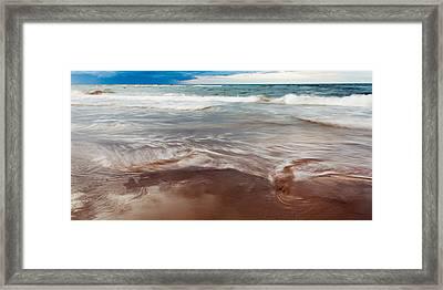 Ocean Panorama Framed Print by Matt Dobson