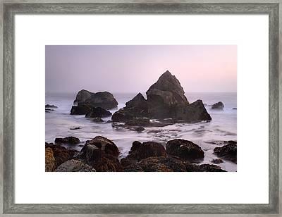 Ocean Scene Framed Print