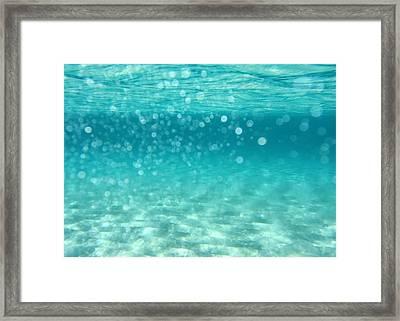 Ocean Framed Print by Stelios Kleanthous