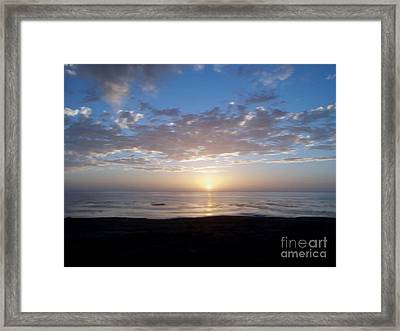 Ocean Sunset  Framed Print by The Kepharts