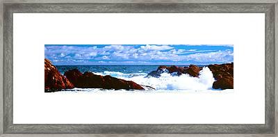 Ocean Surf Framed Print by Phill Petrovic