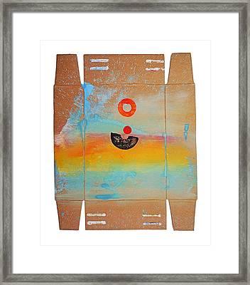 Ocean Swell Framed Print by Charles Stuart