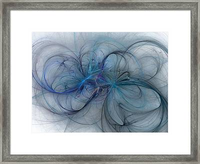 Ocean Threads Framed Print