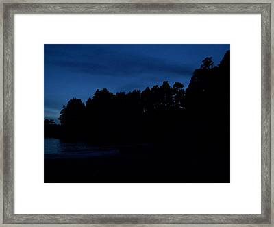 Ocean Twilight Framed Print