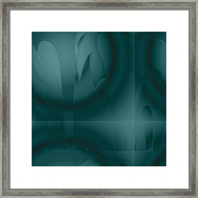 Oceans Deep Framed Print