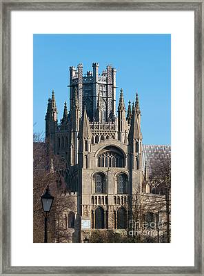 Framed Print featuring the photograph Octagon Tower  by Andrew  Michael